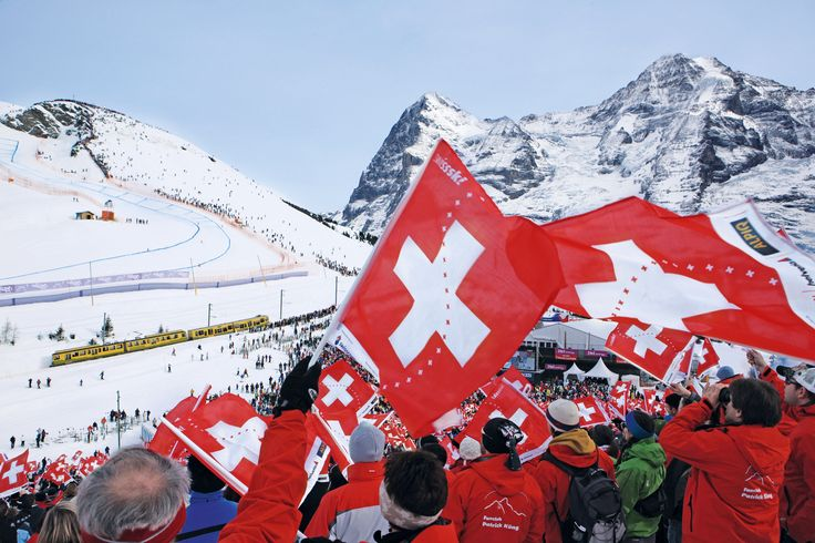 The famous Lauberhorn Races start today. Highlights include the longest and toughest downhill course on the World Cup circuit. The perfect place to take your #SkiStar #SwissSelfie – can you catch one of the racers? Share your picture with us: http://swissselfie.myswitzerland.com/de! #Winter #LauberhornRaces #SwissSelfieInspiration