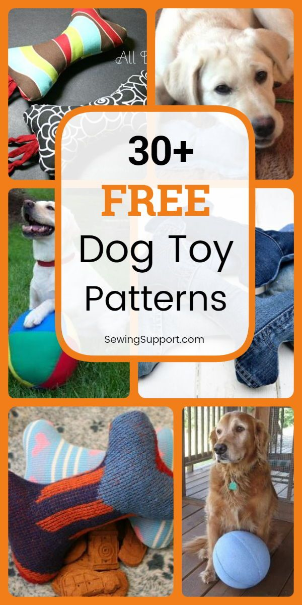 Dog Diy Browse Over 30 Cute Dog Toy Patterns Diy Projects And
