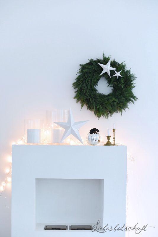 Liebesbotschaft: Weihnachtsdeko im Loft, Spekulatius-Oreos, und Gewinner.