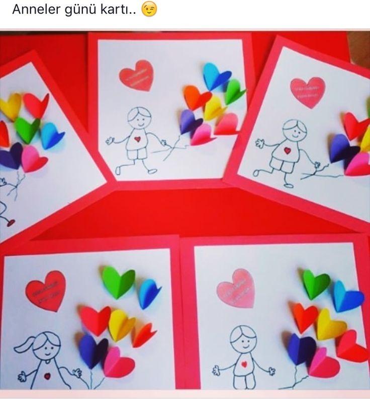 * Hartjes voor mama omdat.... In ieder hartje iets schrijven...