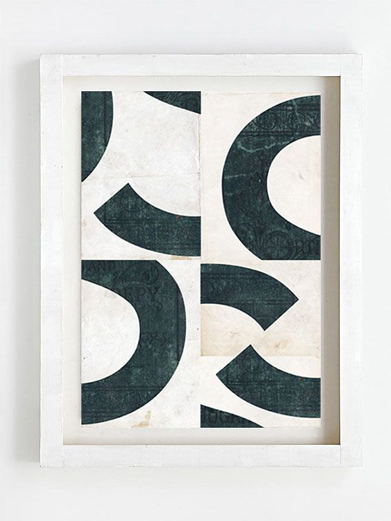 Print by Sophie Klerk, 'S'