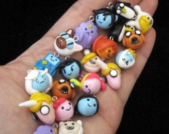 Custom Choose Your Characters Adventure Time Charm di egyptianruin