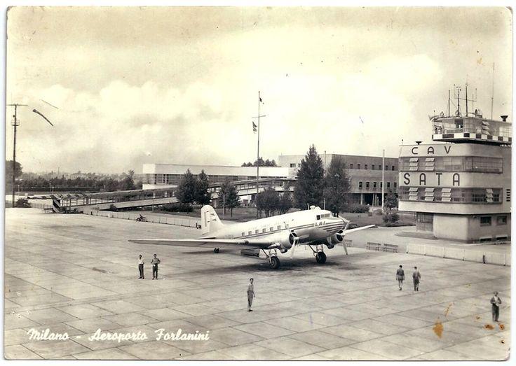 Milano | Linate - La meraviglia del primo Aeroporto Forlanini - Urbanfile Blog