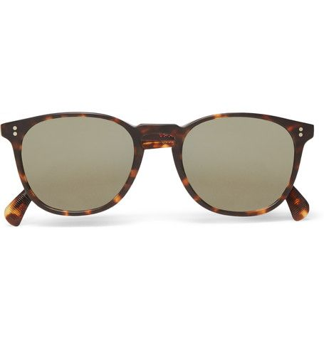 Oliver Peoples - Sir Finlay Round-Frame Acetate Polarised Sunglasses