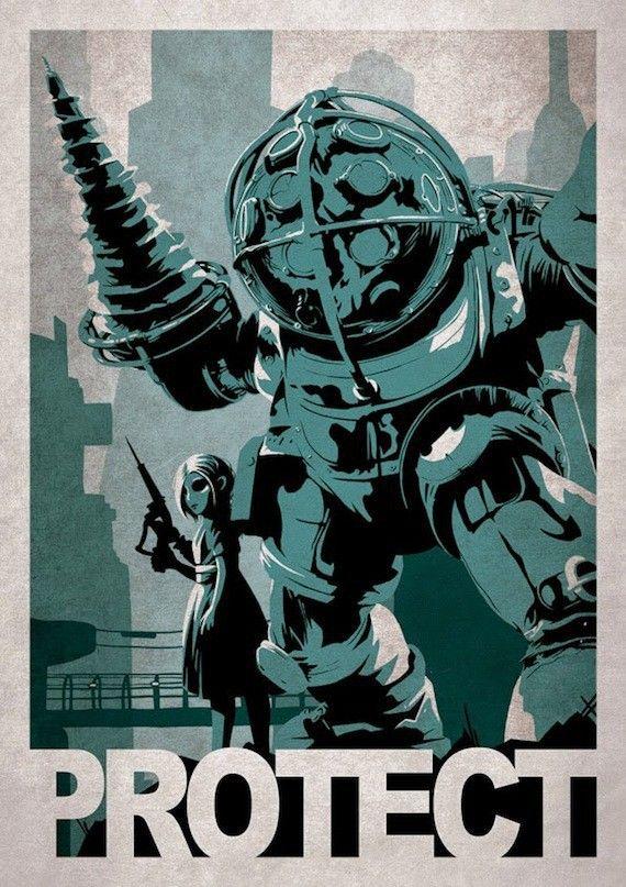 Les superbes posters de jeux vidéo d'Alex Ramallo
