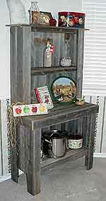 bakers hutch: Projects, Building Ideas, Bakers Hutch, Country Kitchens, Diy, Country Livin, Barn Wood, Barnwood Ideas