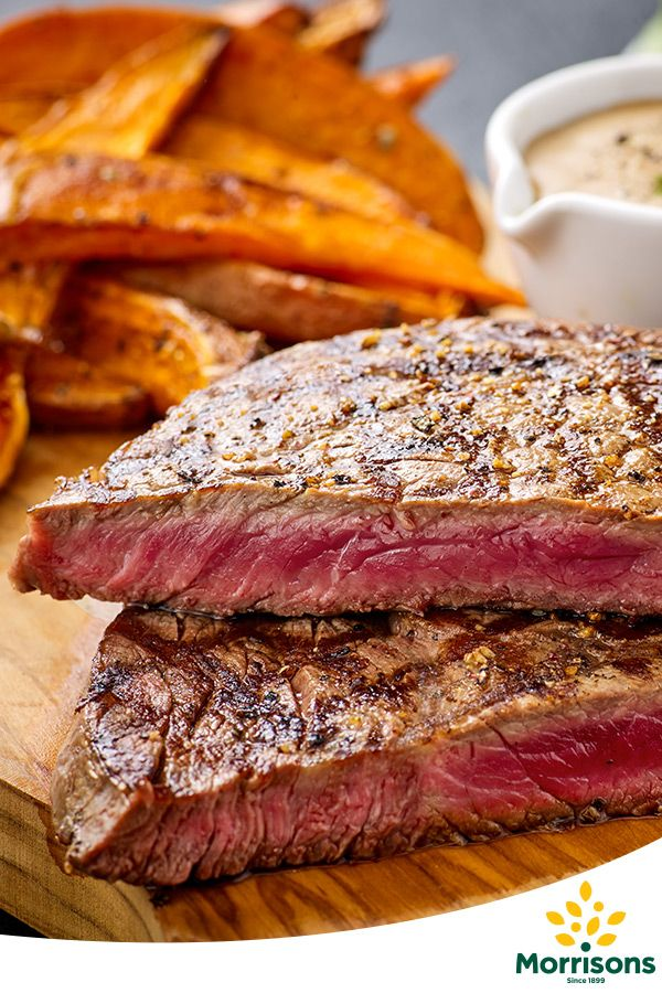 In the mood for love? Try our Ribeye steak with sweet potato chips and 5 peppercorn sauce recipe from our Emotion Cookbook