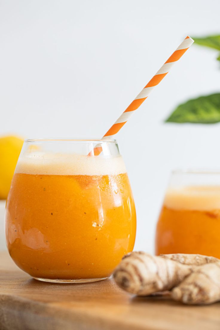 Carrot ginger citrus turmeric juice orchids sweet tea
