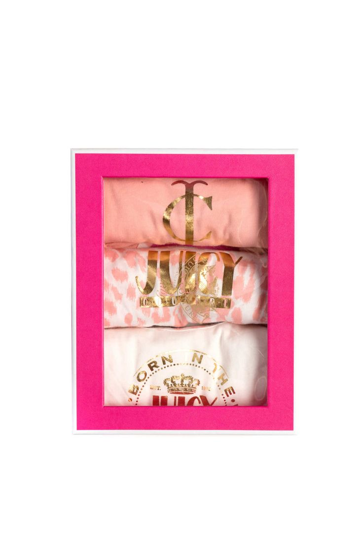 Giftset Baby Body 3PC SUGARED ICING - Juicy Couture - Designers - Raglady