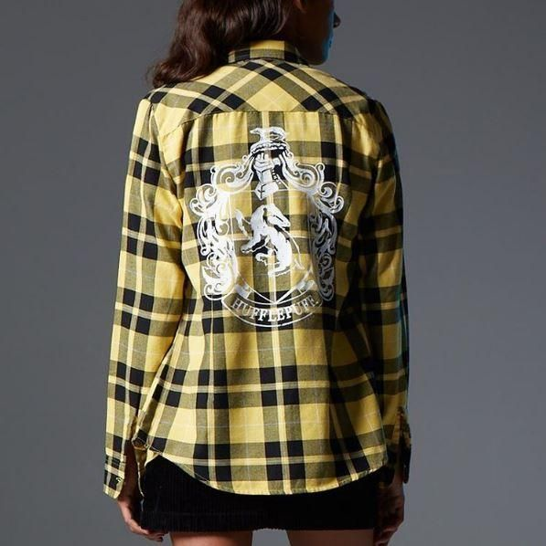 House pride // Harry Potter Hufflepuff Plaid Girls Woven