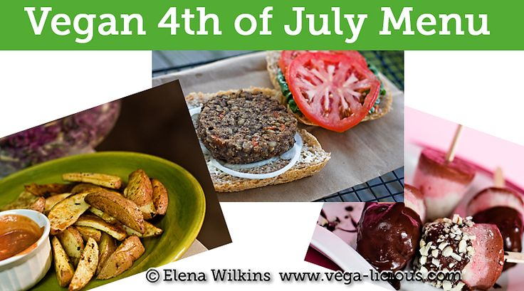 vegan recipes 4th of july