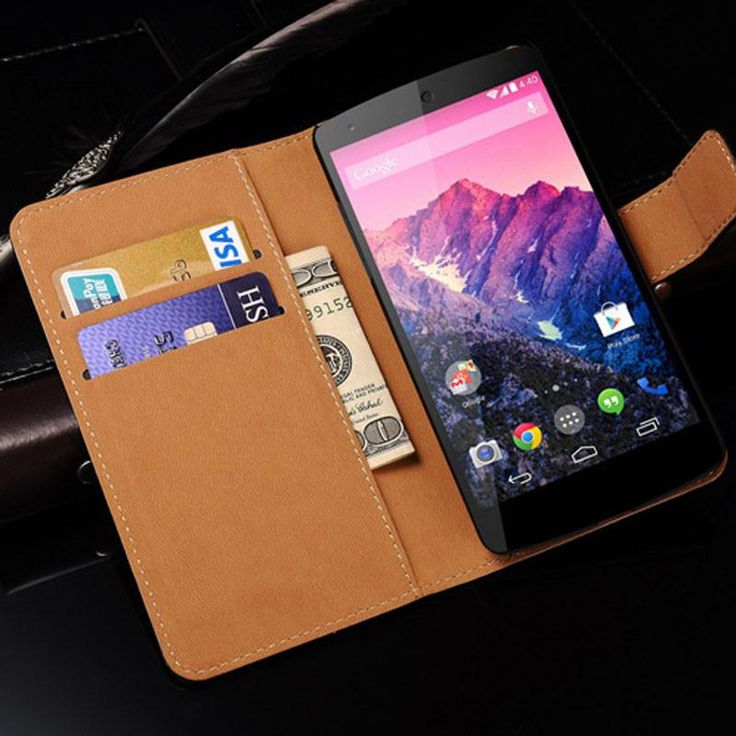 Leather Phone Cases /Wallet Case For LG Google Nexus 5  #Trending