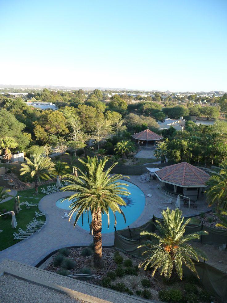 Hotel Safari Court, Windhoek, Namibia ~ ©Emmy DE http://www.pinterest.com/emmydel/