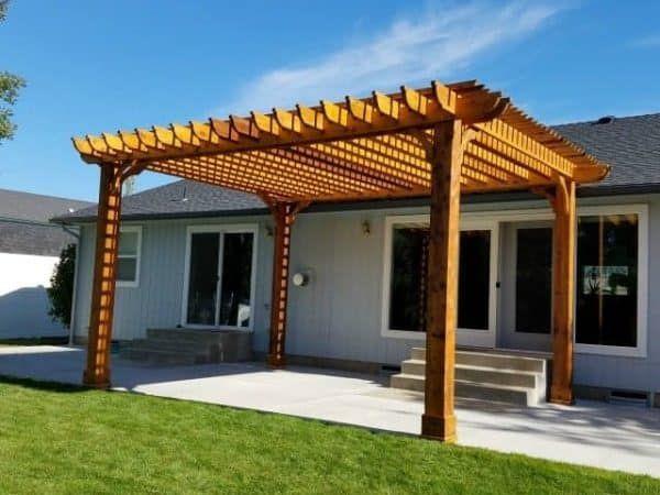 Big Kahuna 15x20 Pergola Kit In 2019 Backyard Stuff