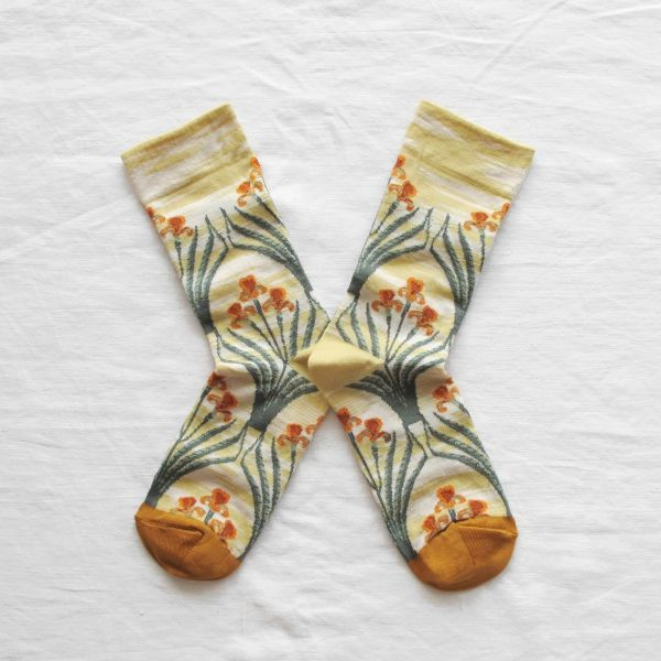 Chaussettes Bonne Maison France Fleurs