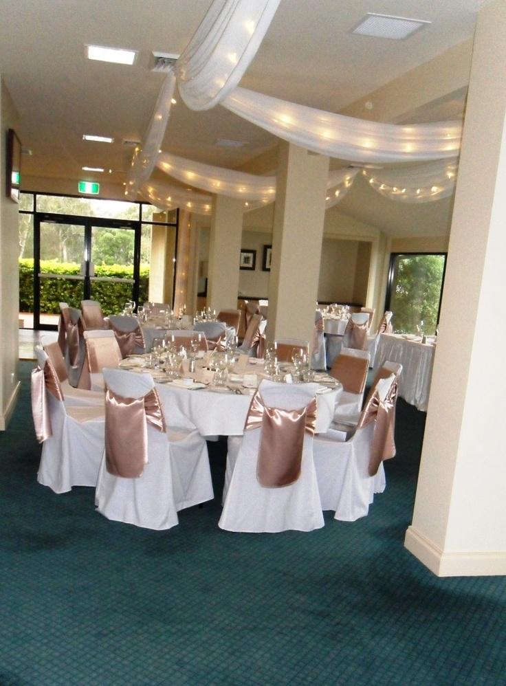 #ceilingdrapery #weddingreception #neutralcolours