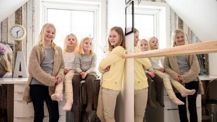 Fire døtre på 5, 8, 10 og 11 år: Slik får familien full kontroll - Aftenposten