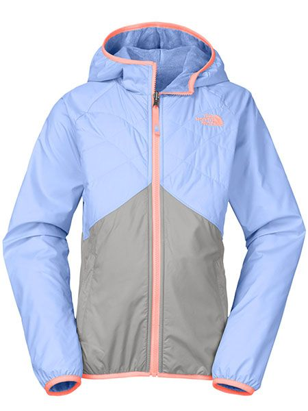 The North Face Junior Girls' Reversible Breezeway Wind Jacket | Camp & Cottage | Sporting Life