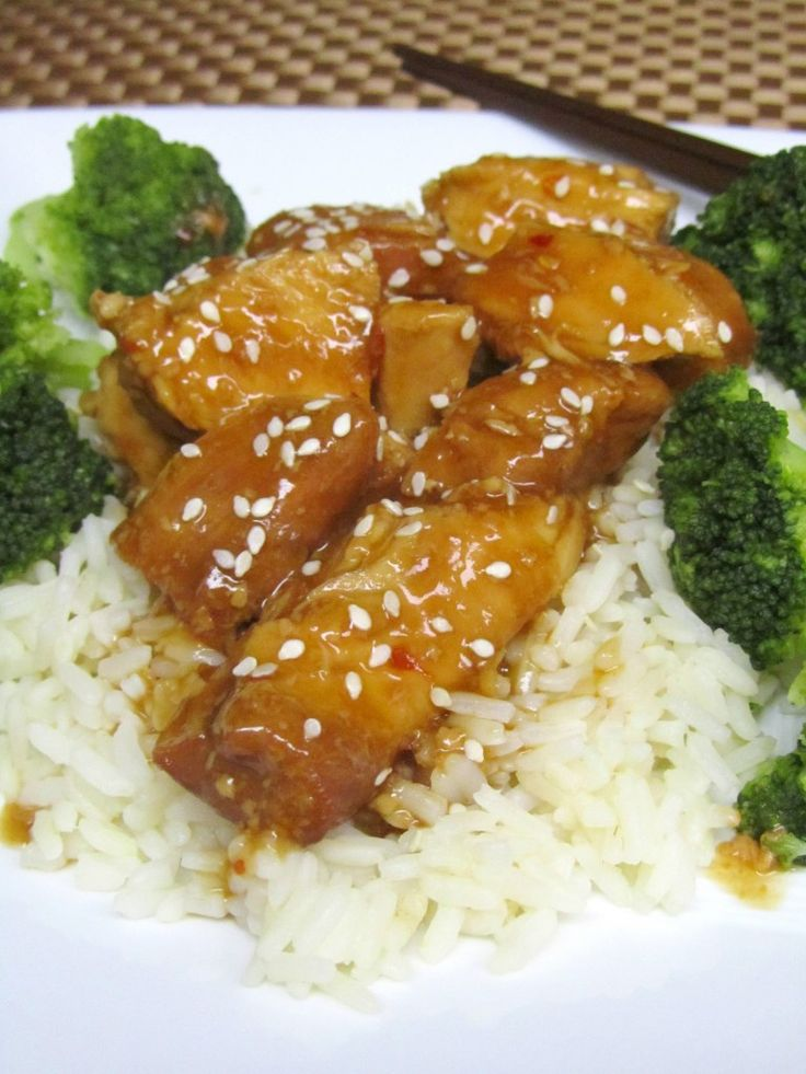 Slow Cooker General Tso's Chicken | The Spiffy Cookie