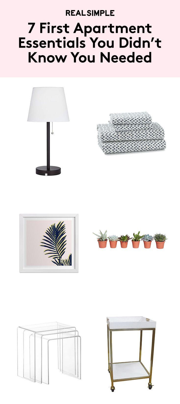 25 best ideas about First apartment essentials on Pinterest