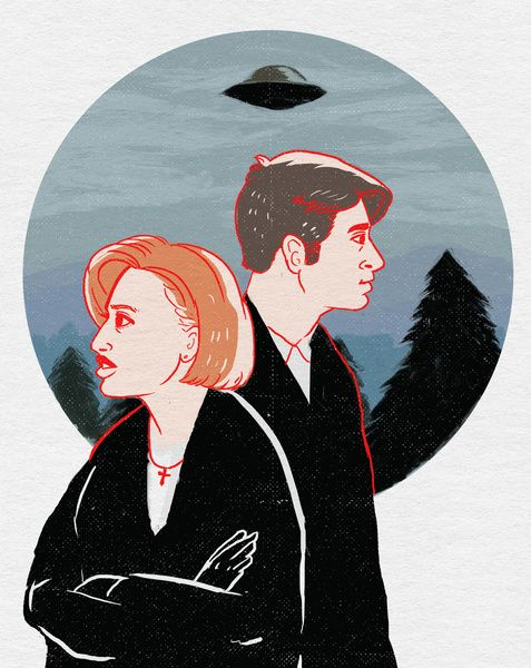The Truth Is Out There - X-Files Art Print