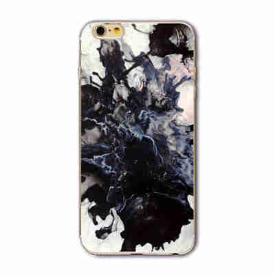 iPhone 7 and 7 Plus 7Plus Marble Image Painted Landscape Pattern Cover