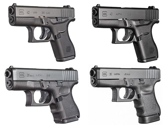 Take your concealed carry firepower to the next level with Glock's pocket lineup.
