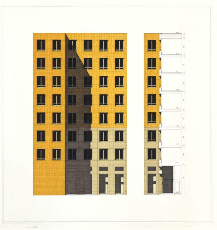 Giorgio Grassi · Potsdamerplatz, Area ABB-Roland Ernst a Berlino
