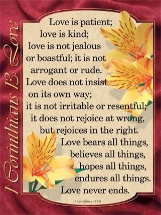 But the end of all things is at hand: be ye therefore sober, and watch unto prayer. And above all things have fervent charity(love) among yourselves: for charity(love) shall cover the multitude of sins. '1 Peter 4:7-8 (KJV)