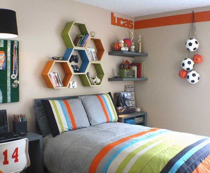 Дизайн детской комнаты для подростка мальчика
