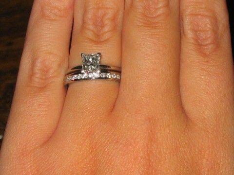 31 best Wedding Rings images on Pinterest Rings Diamond band