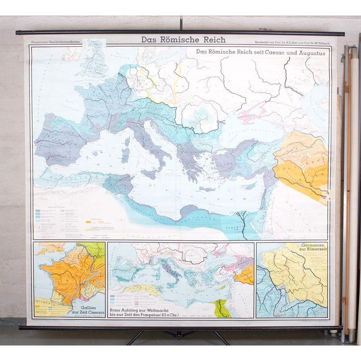 Kartta18_19_Rooman_valtakunta_Das_Romische_Reich