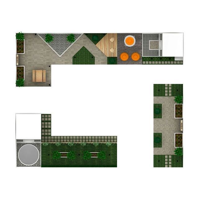 Garden landscape Design . . . . . #clean #cleandesign #interior #interiordesign #simple #simpledesign #work #project #office #garden #park #landscape #landscapedesign #homedecor #homedecoration #3d #3drendering #furnituredesign #white  #pandumdesignworks