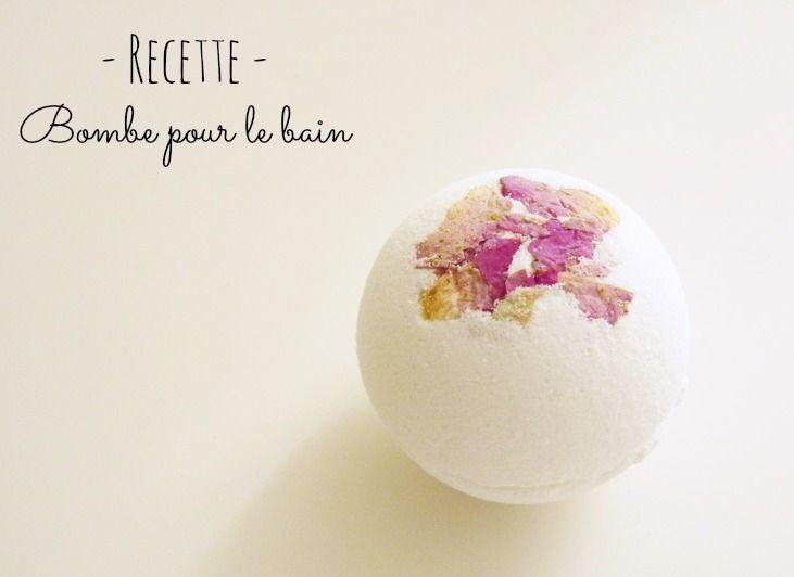 Comment réaliser soi-même une bombe parfumée à faire fondre dans son bain, voici la recette de Coralie !