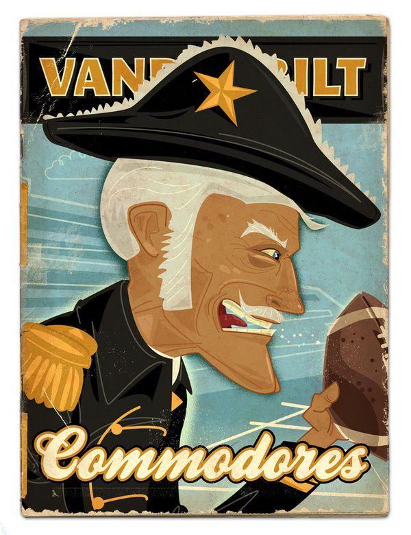 Vanderbilt Commodores - SEC football preview by Thomas Burns.
