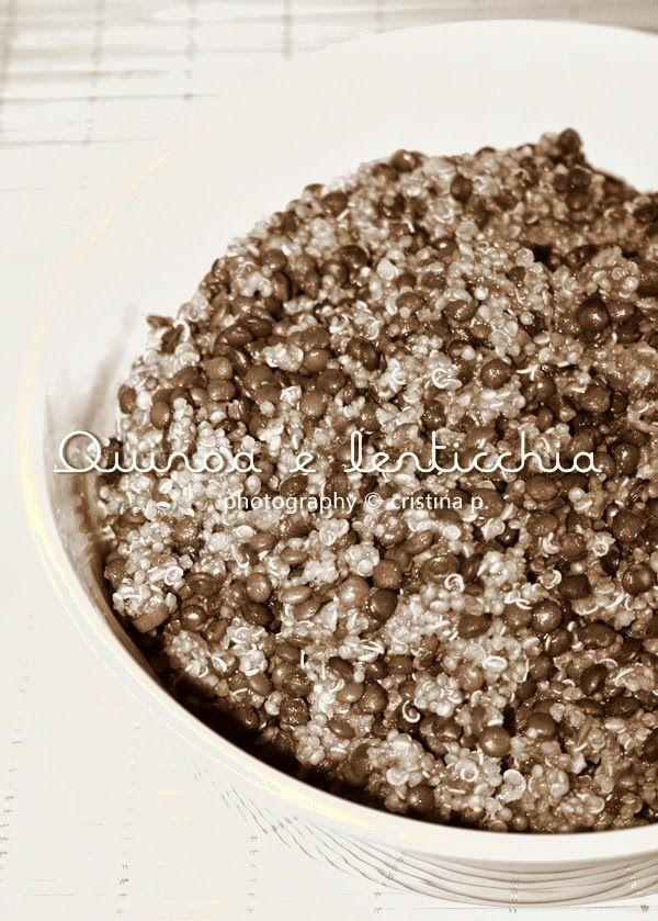 La zucca capricciosa: Quinoa e lenticchia