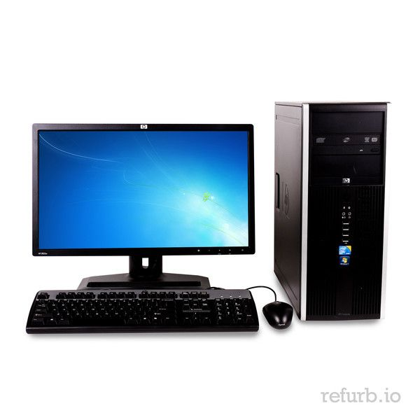 """*Manufacturer: HP *Model #: COMPAQ 8100 ELITE *Form Factor: TOWER *CPU: INTEL CORE i3 2.93Ghz *Memory: 4GB *Memory Type: DDR3 *HDD: 750GB *Hard Drive Type: SATA *Optical: DVD-RW *Monitor: 22"""" WIDE LCD *O/S: WINDOWS 7 PROFESSIONAL (W7P), MICROSOFT AUTHORIZED REFURBISHER (MAR) *Keyboard & Mouse: YES"""