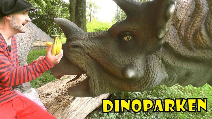 TRICERATOPS   DINOPARKEN med Pappa Kapsyl -  kul fakta om dinosaurier fö...