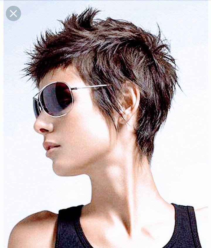Idee Von Izgi Auf Iyimis Frisuren Haarschnitt Kurz