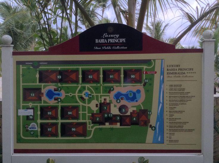 Esmeralda Map Luxury Grand Bahia Principe Esmeralda In