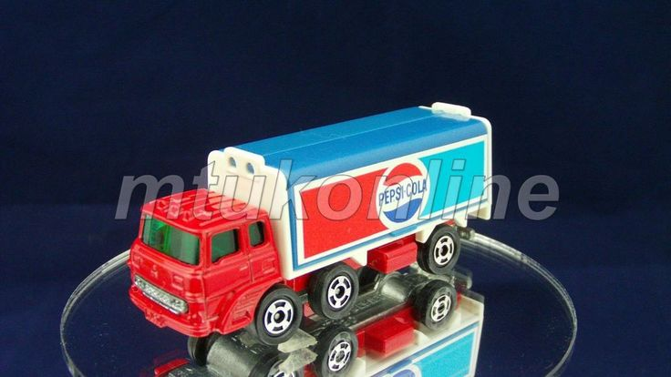 TOMICA 076C FUSO WING ROOF TRUCK | 1/127 | JAPAN | 076C-11 | PEPSI COLA | 1609
