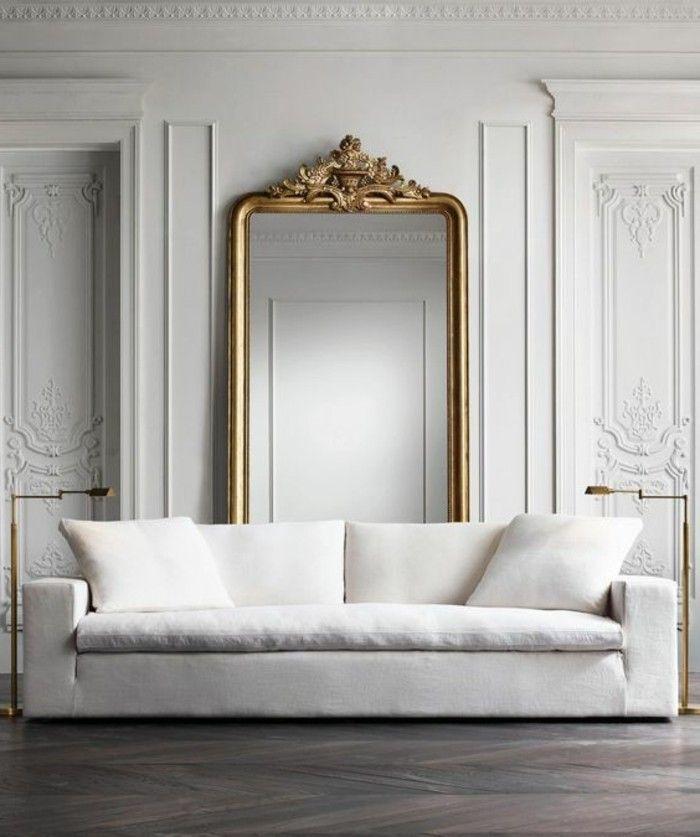 17 meilleures id es propos de miroirs anciens sur for Miroir dessus de buffet