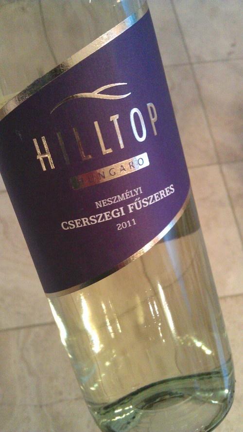 An unusual Hungarian wine
