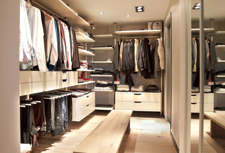 - Modern open wardrobe - for design and solutions / - Modern açık giyinme odası - tasarım ve çözümler için http://www.asart.com.tr