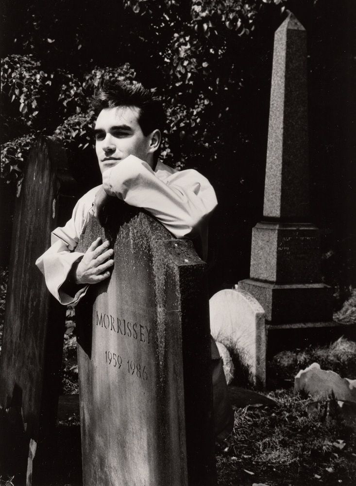 Image result for morrissey in the dark ball