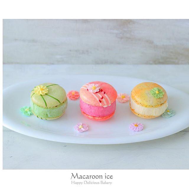 マカロンアイスを作ってみました꒰๑•‧̮ૣ•ૣ๑꒱*・.。 韓国で流行っているらしいです꒰ˊૢᵕˋૢෆ꒱ グリーンは抹茶アイスをサンド꒰๑•‧̮ૣ•ૣ๑꒱*・.。 ピンクはフランボワーズアイス、オレンジはアールグレイのマカロンにパッションフルーツのアイスをサンド꒰⁎❛⃘ੌ ᵕ ❛⃘ੌ⁎꒱ マカロンが甘いからサンドするアイスは酸味のあるもの、ほろ苦さのあるものにしました꒰๑•‧̮ૣ•ૣ๑꒱*・.。 暑い夏にマカロンアイスいかがでしょうか?꒰ˊૢᵕˋૢෆ꒱ . . . #あいりおースイーツ #コッタ#クッキ | SnapWidget