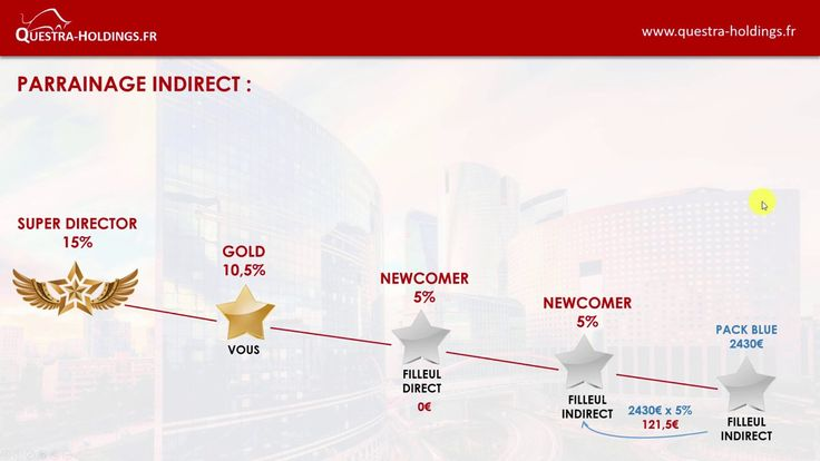 Plan de Rémunération Questra Holdings (France)