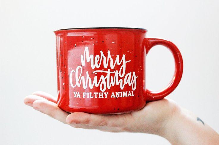Merry Christmas Ya Filthy Animal Mug   Christmas In July                      – Keri Christine