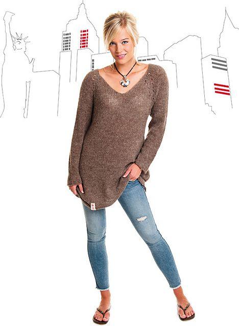 New York tunika 212 pattern by A knit story