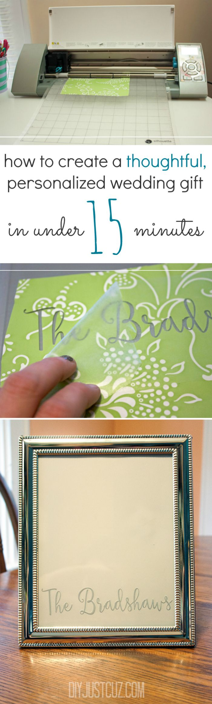 Create A Personalized Wedding Gift In Under 15 Minutes